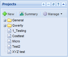 Knowledge Base Images/Project Management/Projects_Panel.PNG